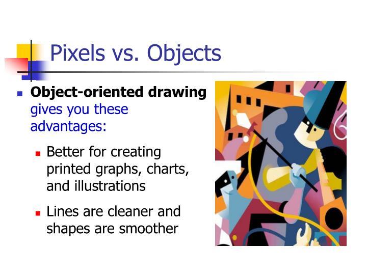 Pixels vs. Objects