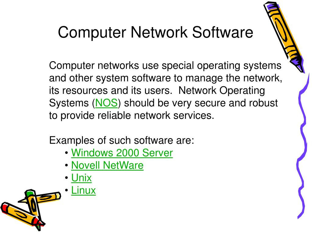 Computer Network Software