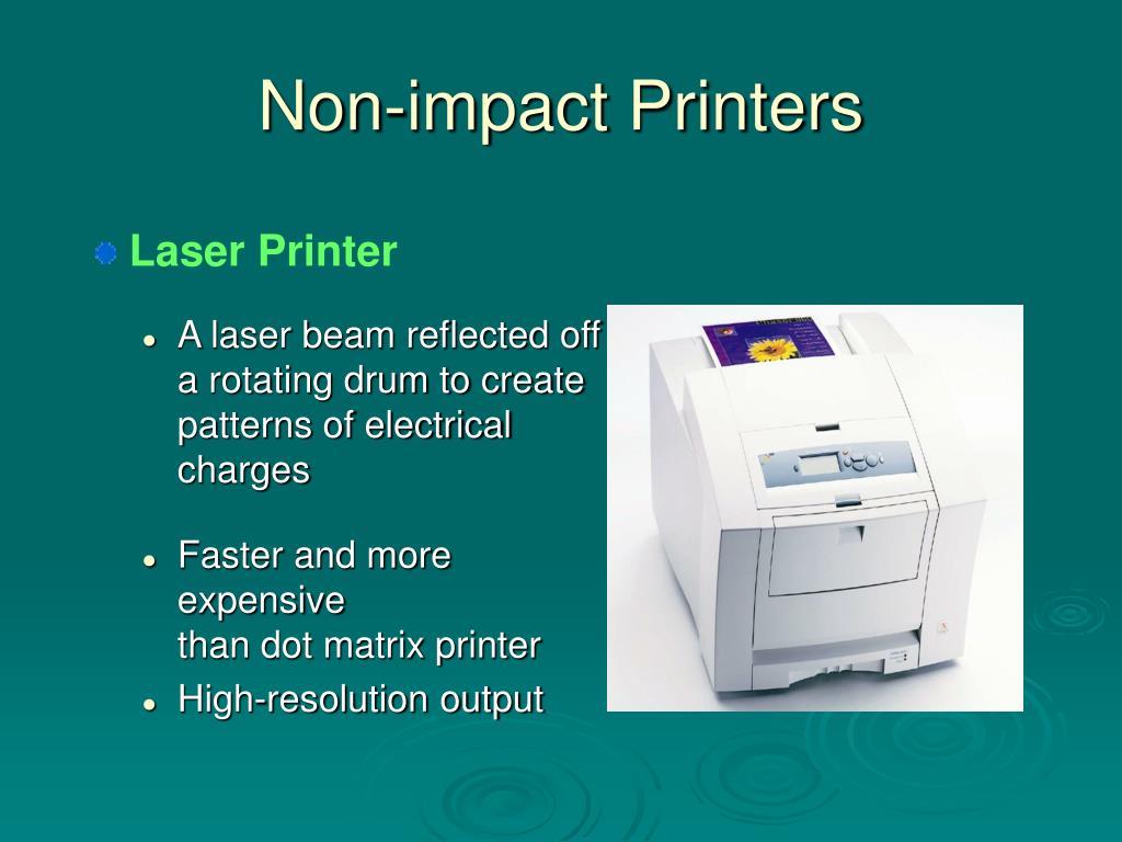 Non-impact Printers