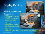 display devices12
