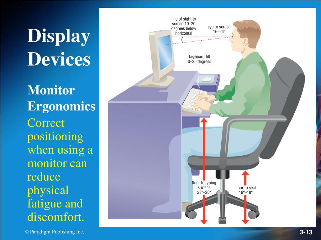 Monitor Ergonomics