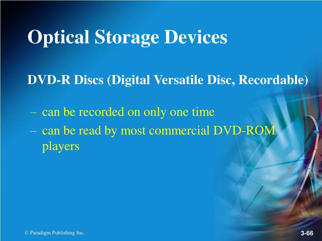 DVD-R Discs (Digital Versatile Disc, Recordable)