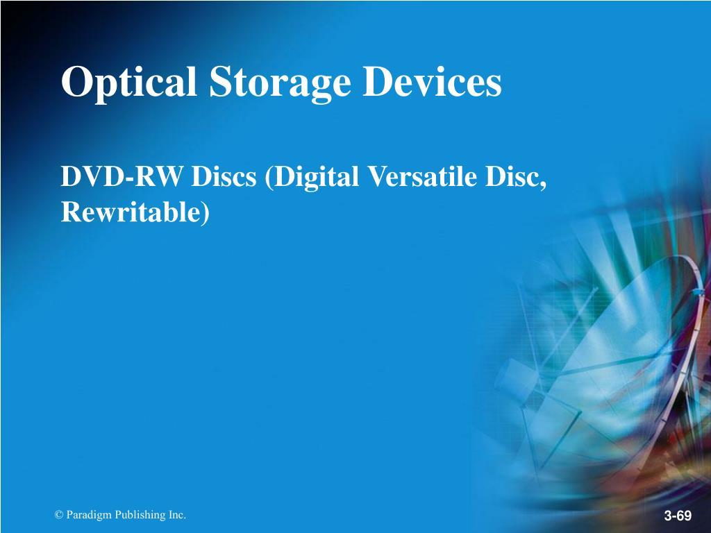 DVD-RW Discs (Digital Versatile Disc, Rewritable)
