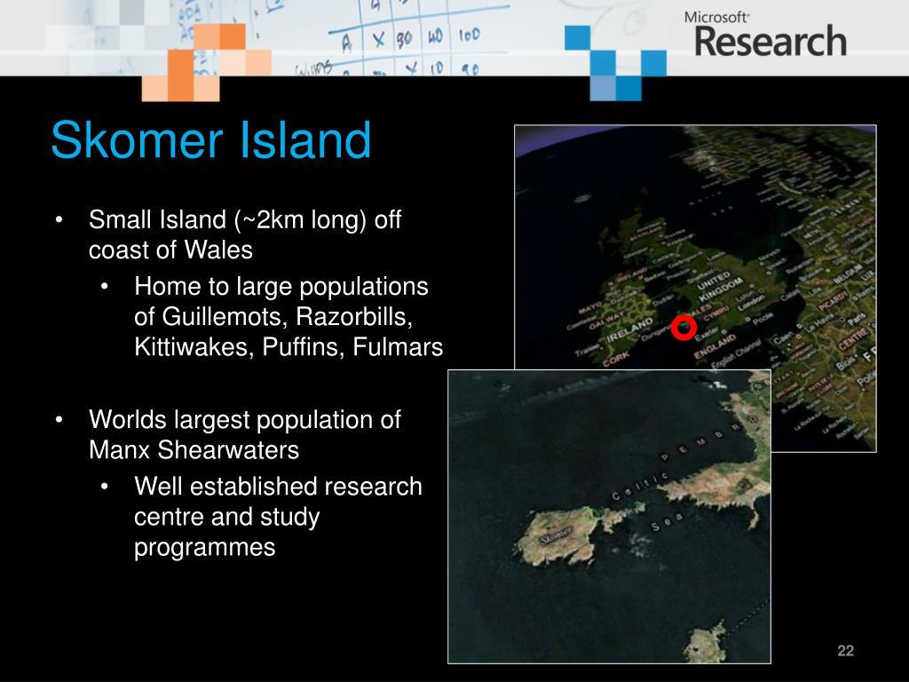 Skomer Island