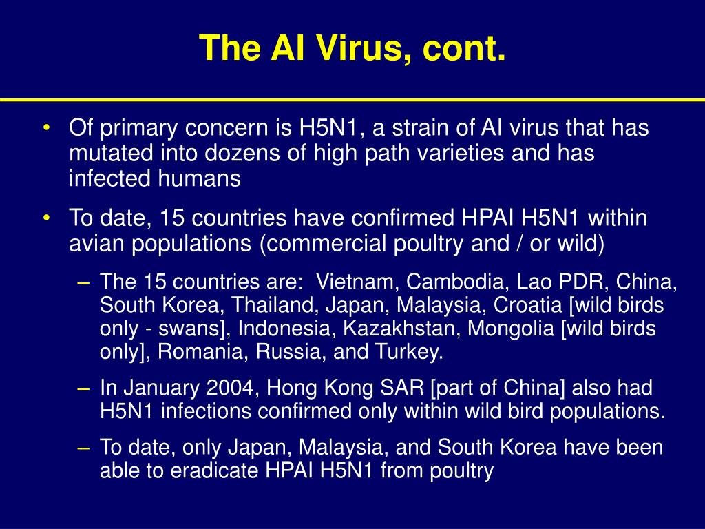 The AI Virus, cont.