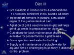 diet iii