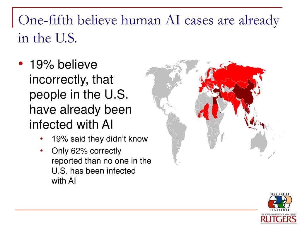 One-fifth believe human AI cases are already in the U.S.