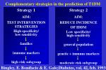 complementary strategies in the prediction of t1dm