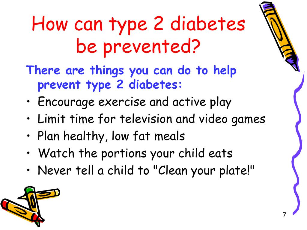 How can type 2 diabetes be prevented?