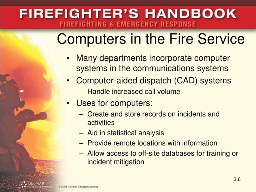 Computers in the Fire Service