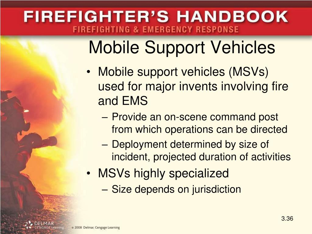 Mobile Support Vehicles