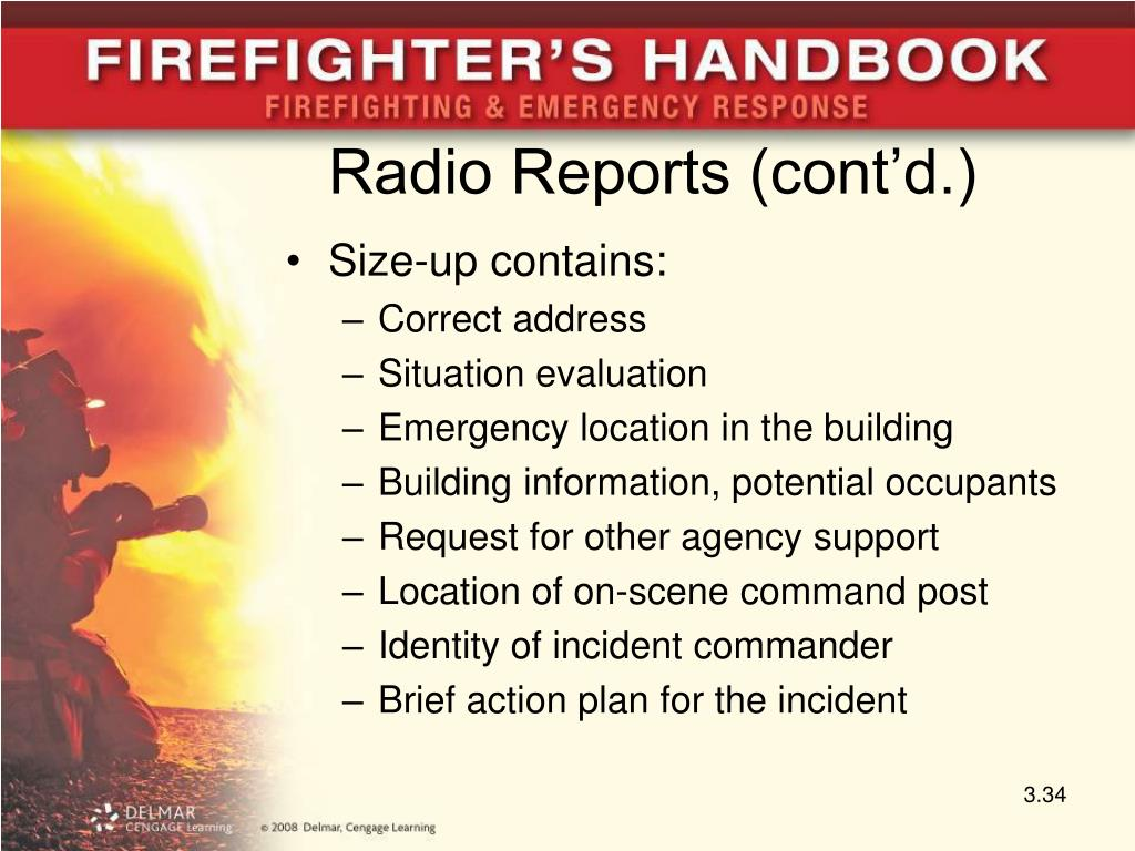 Radio Reports (cont'd.)