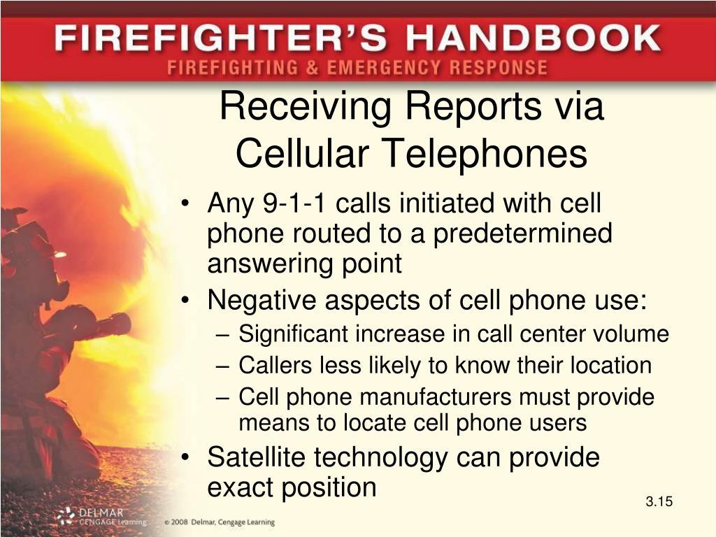 Receiving Reports via