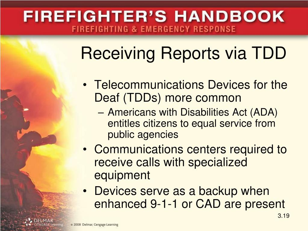 Receiving Reports via TDD