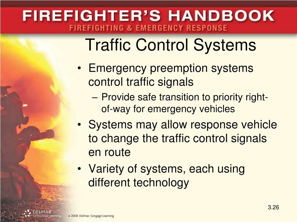 Traffic Control Systems