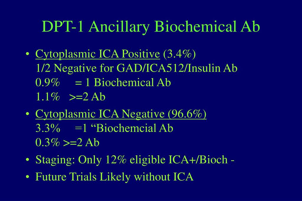 DPT-1 Ancillary Biochemical Ab