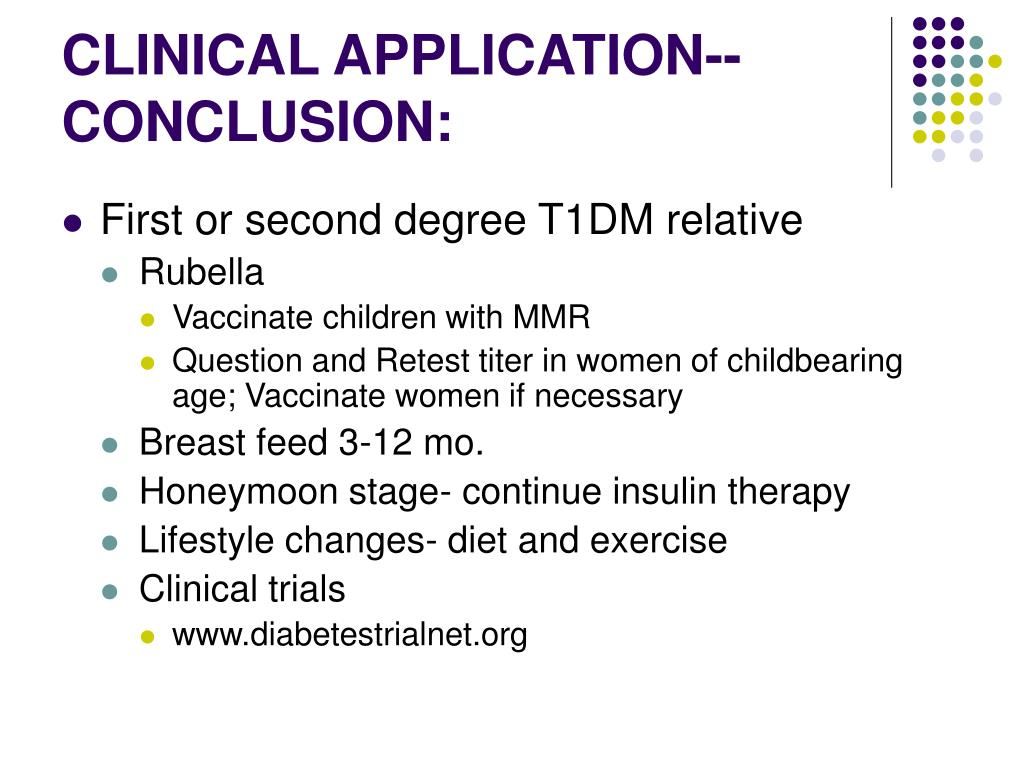 CLINICAL APPLICATION--CONCLUSION:
