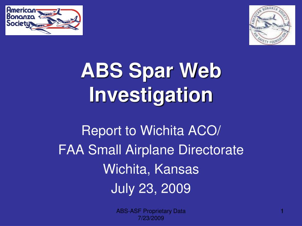 ABS Spar Web Investigation