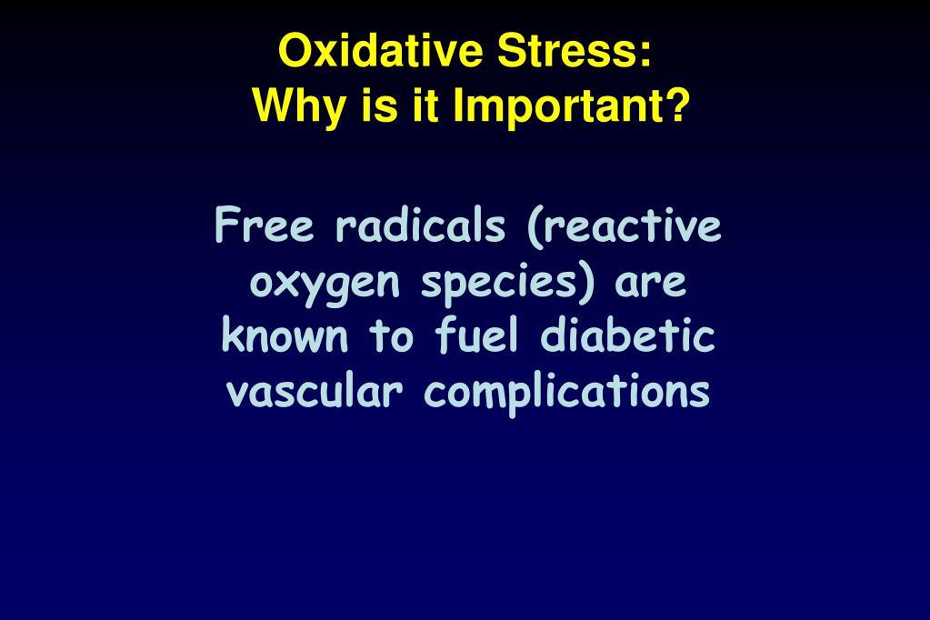Oxidative Stress:
