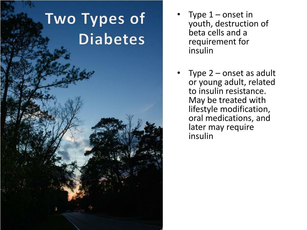 Two Types of Diabetes