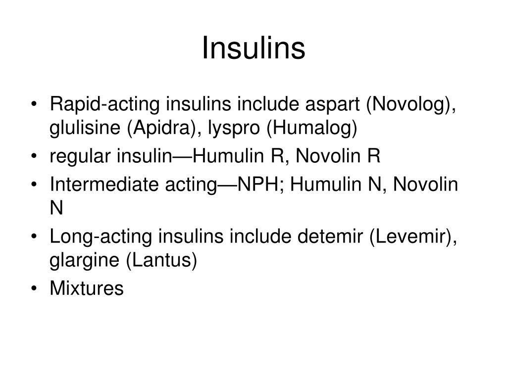 Insulins