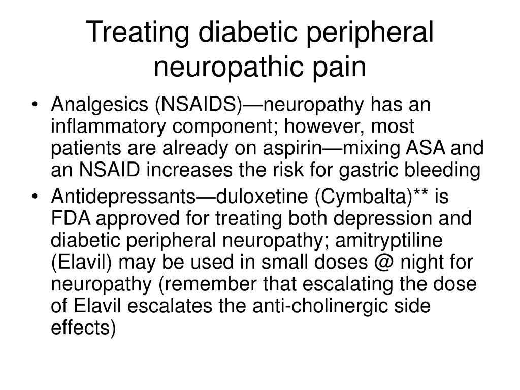 Treating diabetic peripheral neuropathic pain