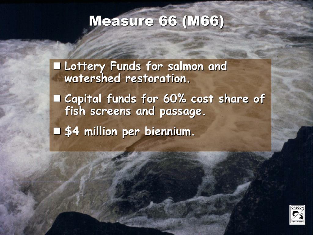 Measure 66 (M66)