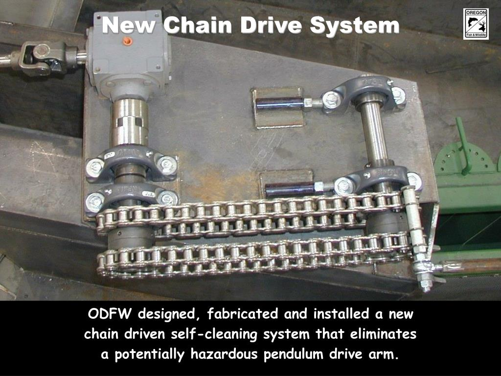 New Chain Drive System