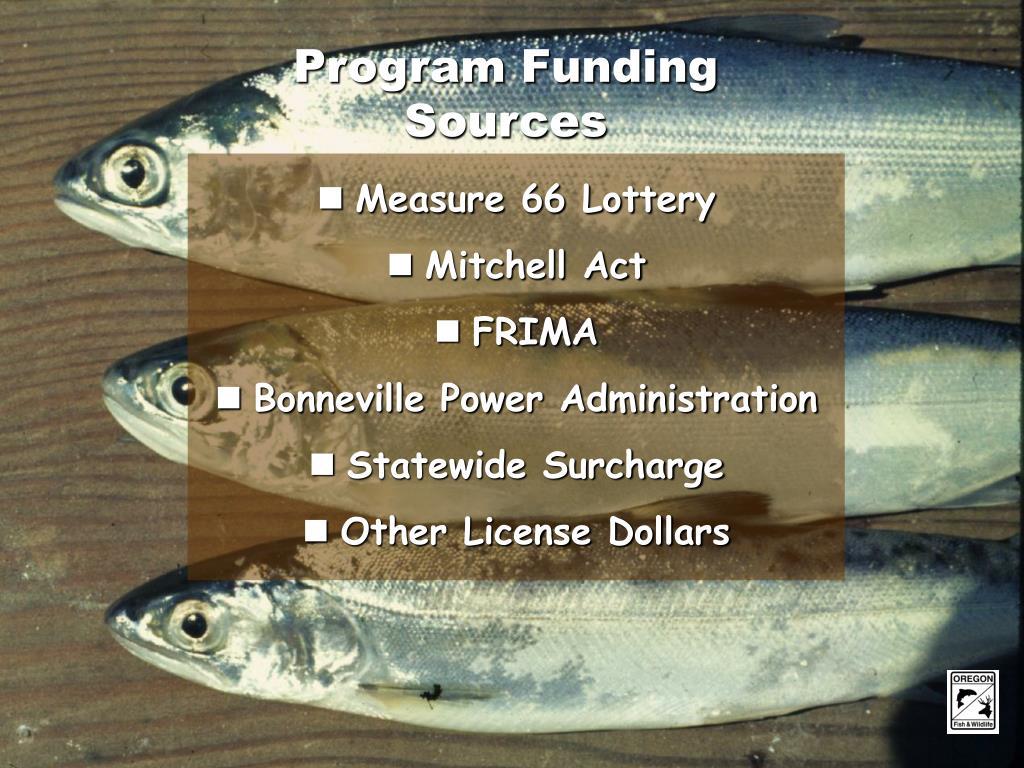 Program Funding Sources