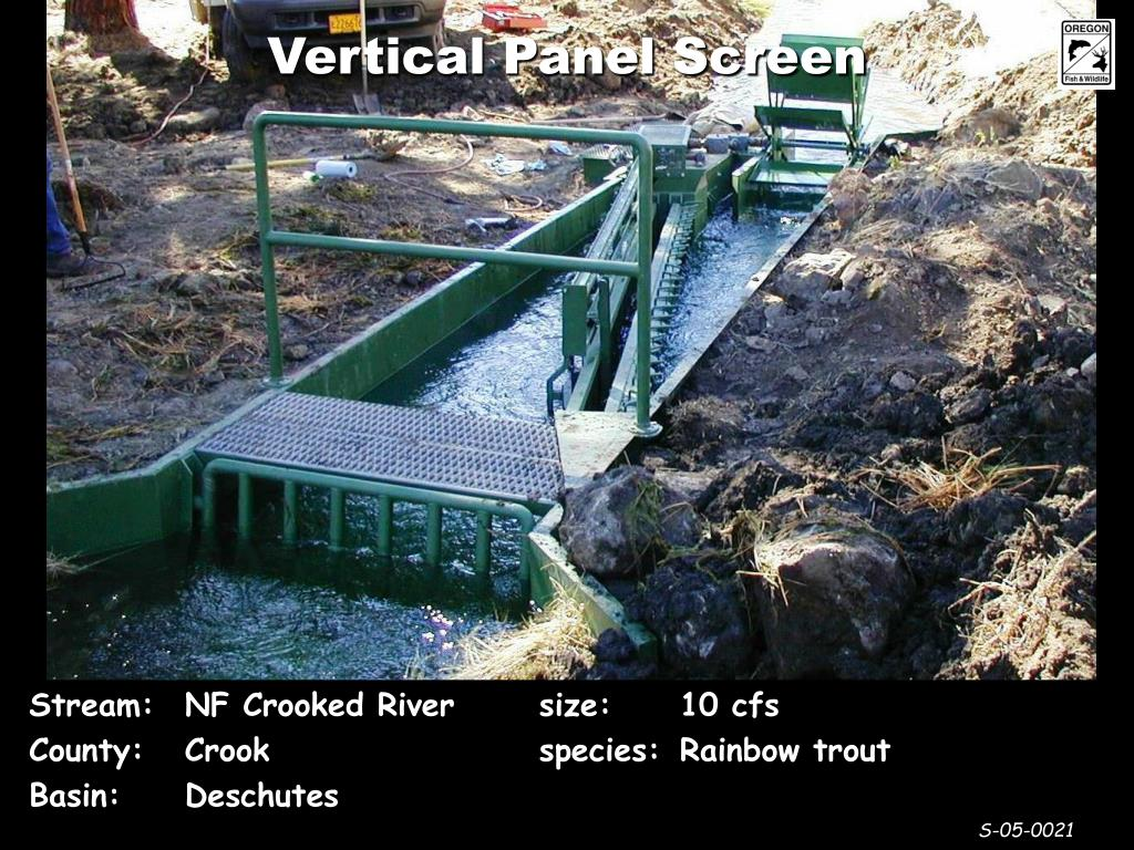 Vertical Panel Screen