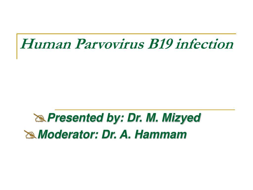 Human Parvovirus B19 infection