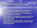 development of type 26