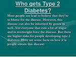 who gets type 2 diabetes