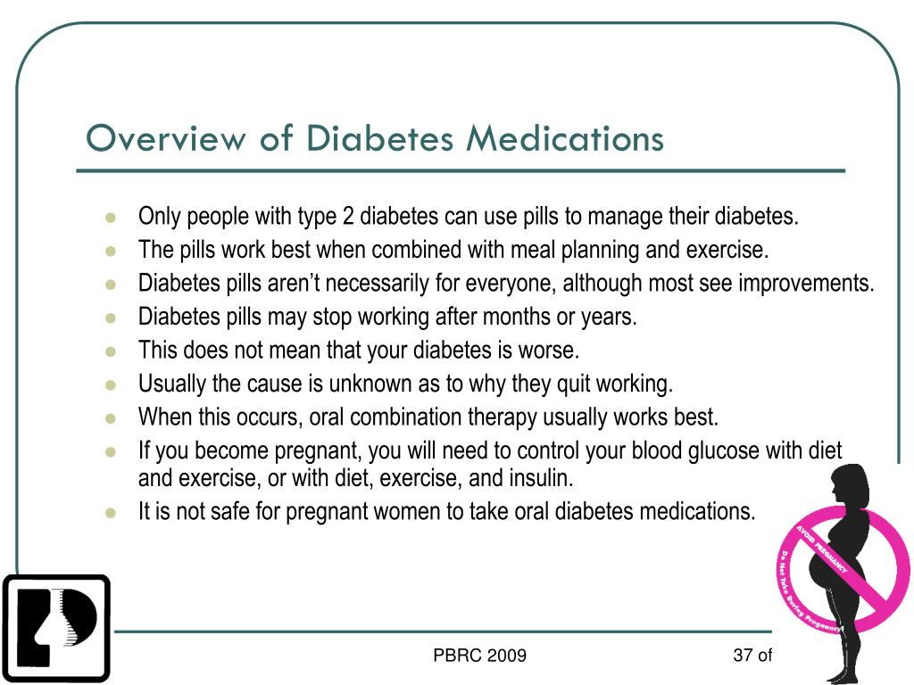 Overview of Diabetes Medications