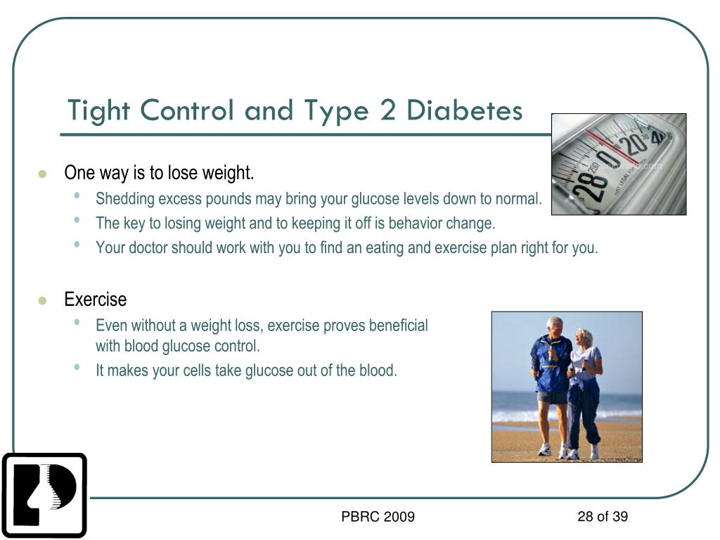 Tight Control and Type 2 Diabetes