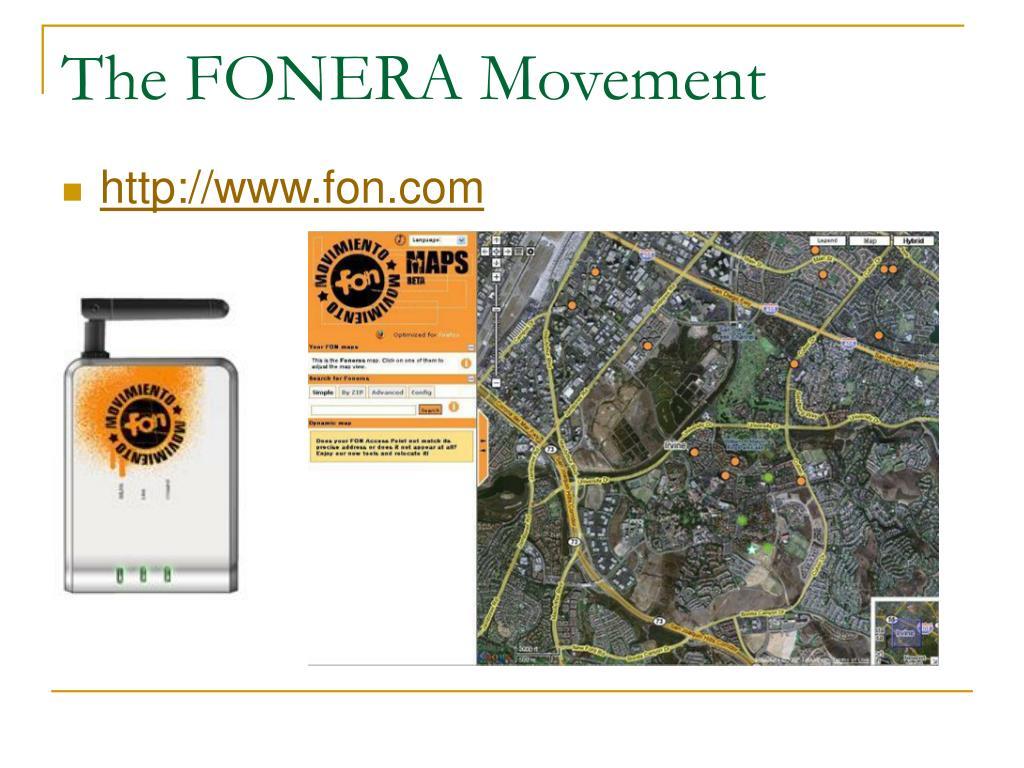 The FONERA Movement