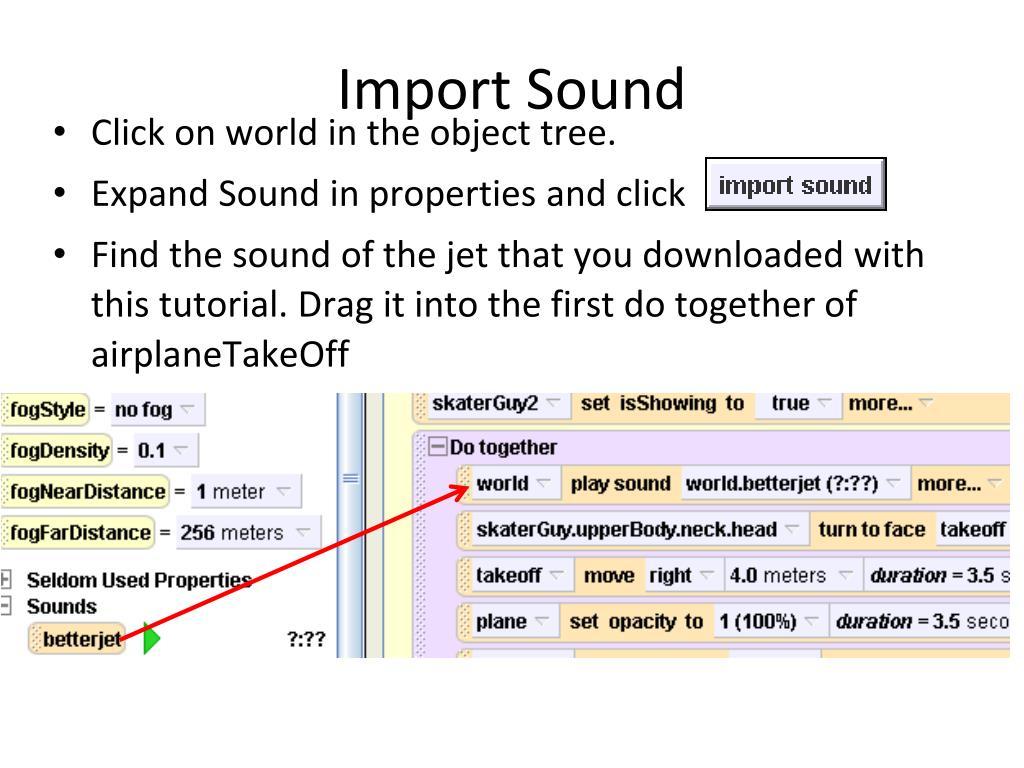 Import Sound