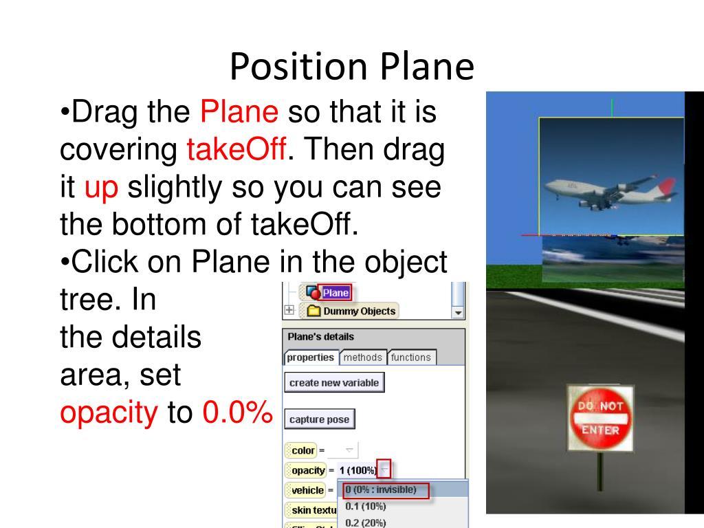 Position Plane