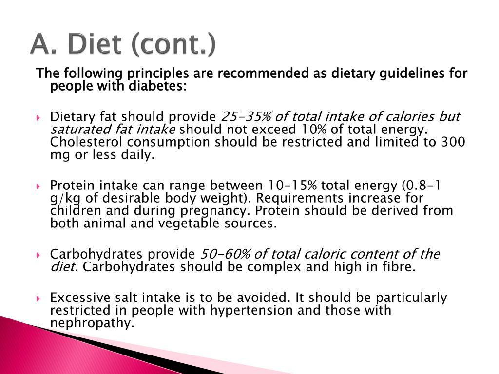 A. Diet (cont.)