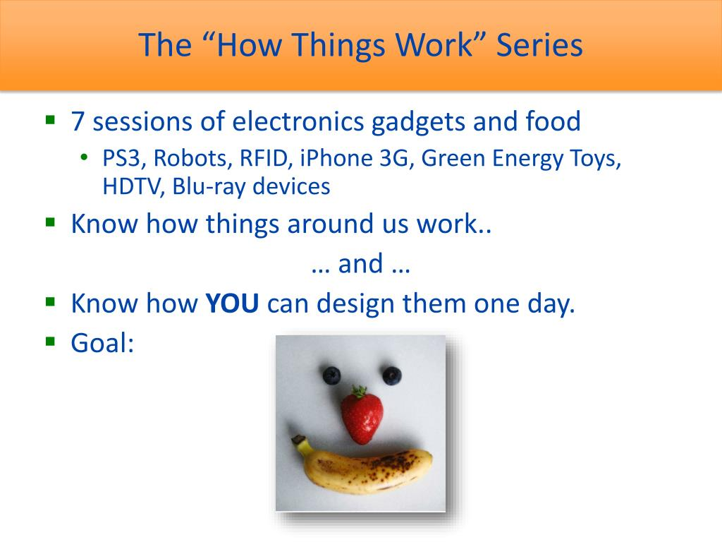 "The ""How Things Work"" Series"