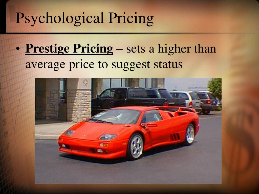 Psychological Pricing