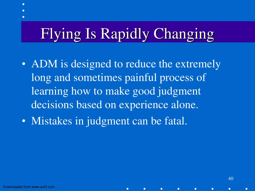 Flying Is Rapidly Changing