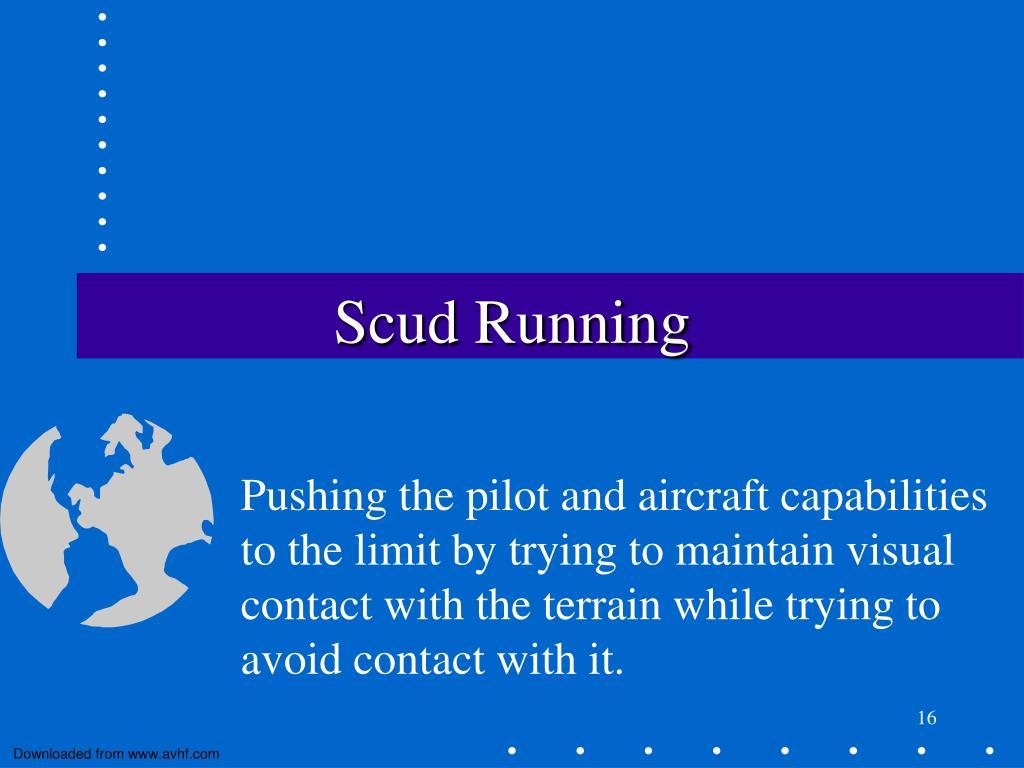 Scud Running