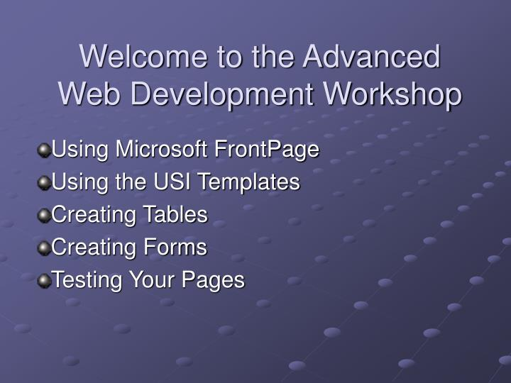Welcome to the advanced web development workshop l.jpg