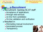 other e recruitment