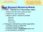 stock movement monitoring module