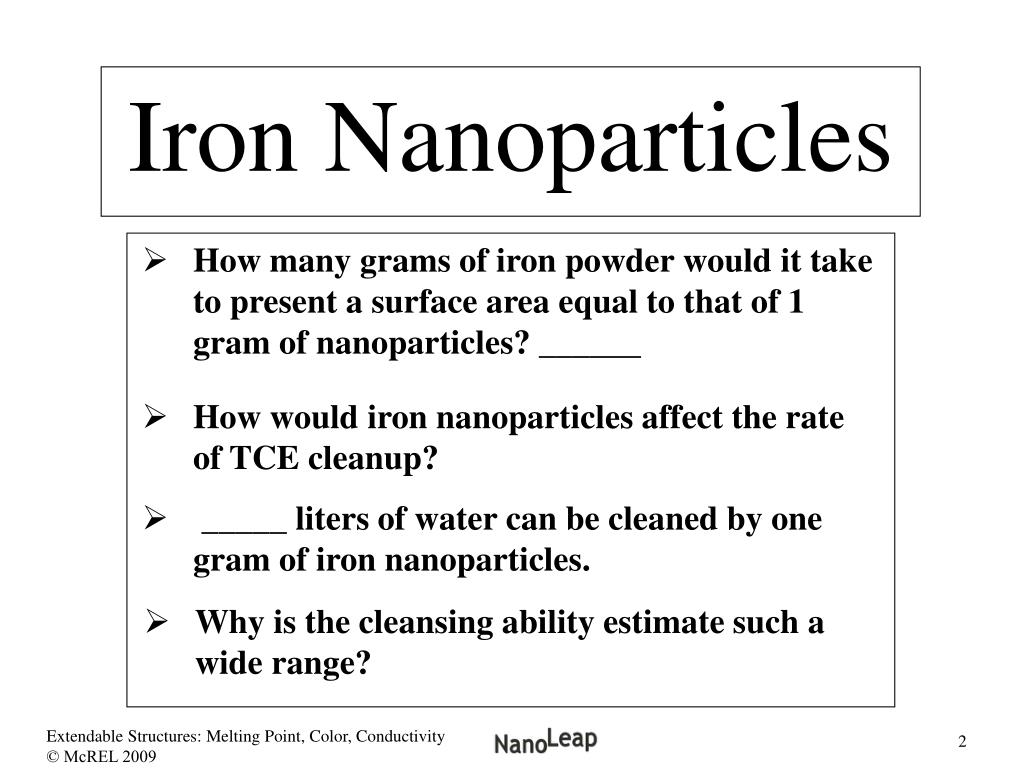 Iron Nanoparticles