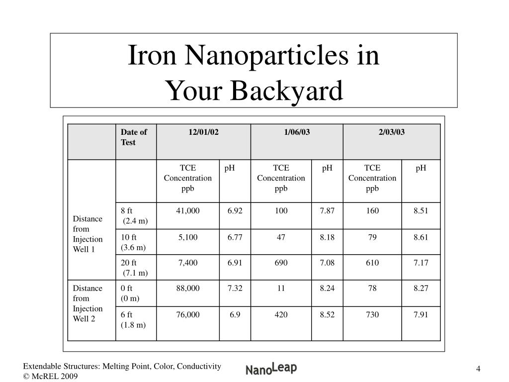 Iron Nanoparticles in