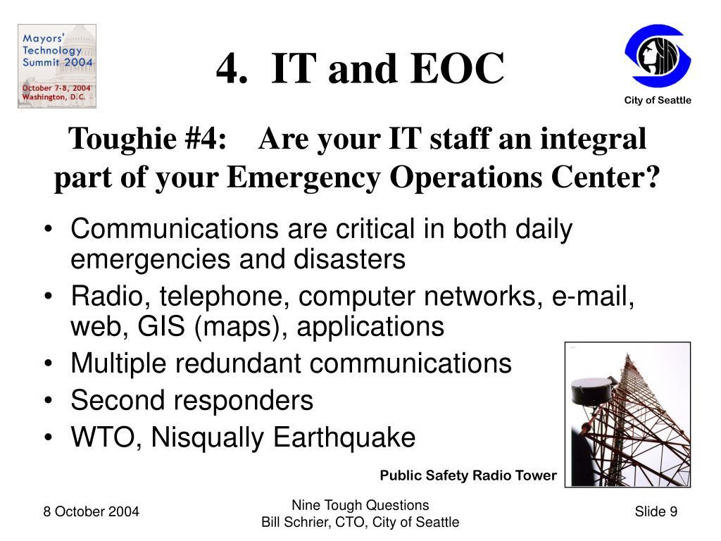 4.  IT and EOC