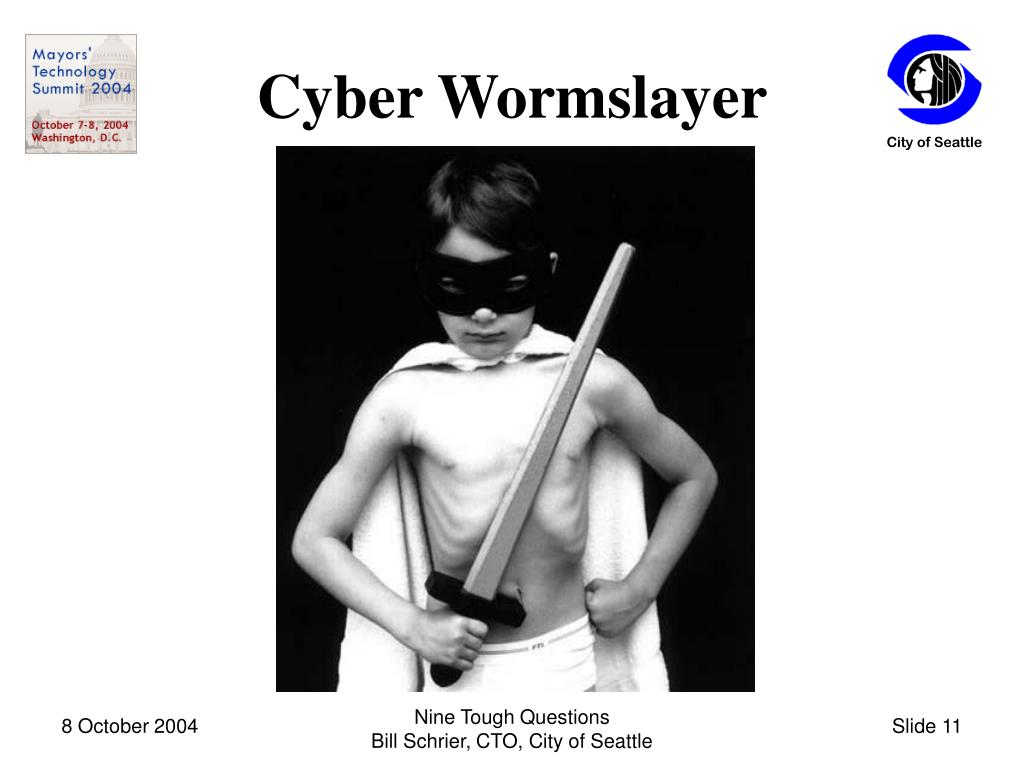 Cyber Wormslayer